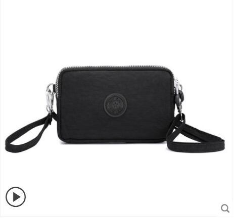 手拿包女包牛津布錢包小包包迷你手機包帆布包側背斜背包 愛麗絲精品
