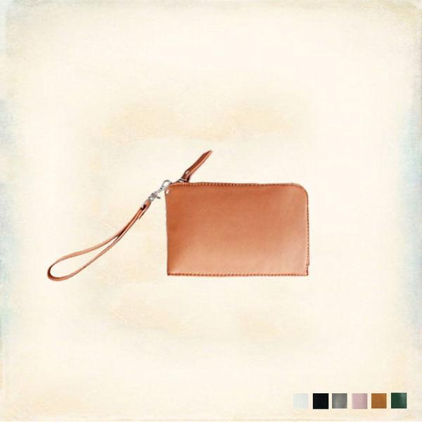Melek 手機掛包 (共6色) 現貨【A01160811-0201~06】女配件拉鍊手機包/手拿包/小包/掛頸包