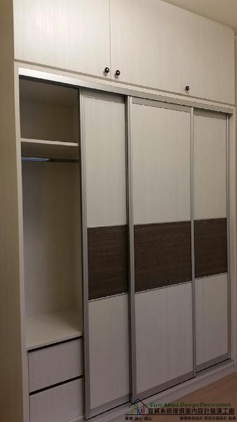 系統家具/台中系統家具/系統家具工廠/台中室內裝潢/系統櫥櫃/台中系統櫃/拉門衣櫃sm-1000