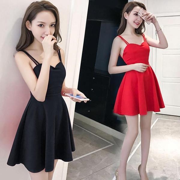 降價兩天 夜店洋裝 夜場裙子女2020夏季新款性感夜店連身裙心機小禮服顯瘦氣質吊帶裙
