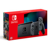 預購-2019款 Nintendo Switch新款主機-搭灰手把【愛買】