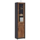 【森可家居】雷恩1.3尺雙色中抽書櫃(單只-編號1) 7JF362-2