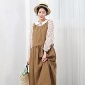 正韓 寬鬆長版連身裙 (9580) 預購
