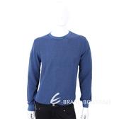 TRUSSARDI 藍色混色圓領針織衫 1720312-80