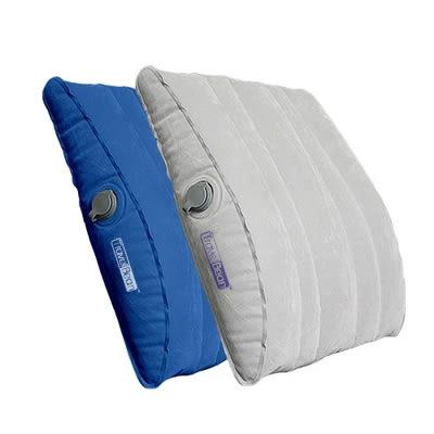 坐長途飛機睡覺神器充氣背墊腰靠護腰墊子枕頭辦公室座椅靠墊便攜  極客玩家