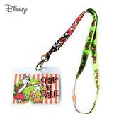 日本限定 迪士尼 奇奇蒂蒂 掛繩頸帶  票卡夾 / 識別證 卡套