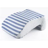 彩棉舒適釋壓午睡枕-藍 NITORI宜得利家居