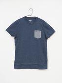 【Hollister】男款短袖純棉T恤 - 深灰/S