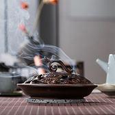 蚊香爐特大號仿古陶瓷盤香爐 家居現代創意日式焚香爐香薰爐  遇見生活