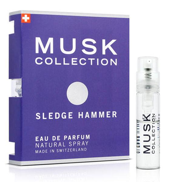 Musk Collection 瑞士 經典藍麝香男性淡香精 針管 1.4ml【娜娜OUTLET】