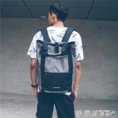休閒後背包男女韓版原宿學院風校園學生背包個性書包潮包交換禮物