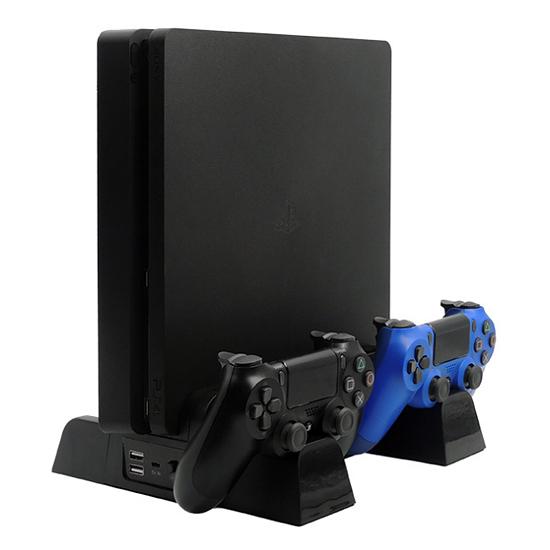 [哈GAME族]免運費 可刷卡●適用全系列PS4主機●iPlay PS4 HBP-149A 三合一多功能散熱底座 手把充電座