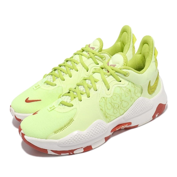 Nike 籃球鞋 PG 5 EP PaoJiao 檸檬黃 泡椒 男鞋 George 5【ACS】 CW3146-701