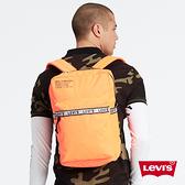 Levis 男女同款 L1後背包 都會電腦包 復古工業風 Logo 邊條