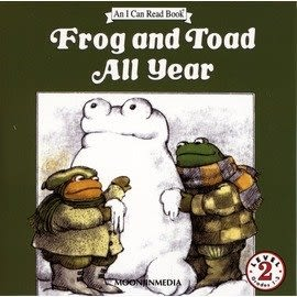 〈汪培珽英文書單〉〈An I Can Read 系列:  Level 2  〉FROG AND TOAD ALL YEAR /單CD