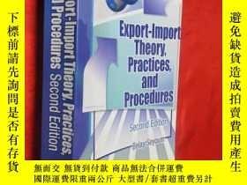 二手書博民逛書店Export-import罕見Theory, Practices