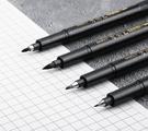秀麗筆 寶克S20秀麗筆可加墨學生用書法筆軟頭小楷科學毛筆中楷抄經【快速出貨八折下殺】