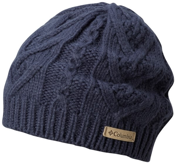 【Columbia】中性保暖快排毛帽灰紫