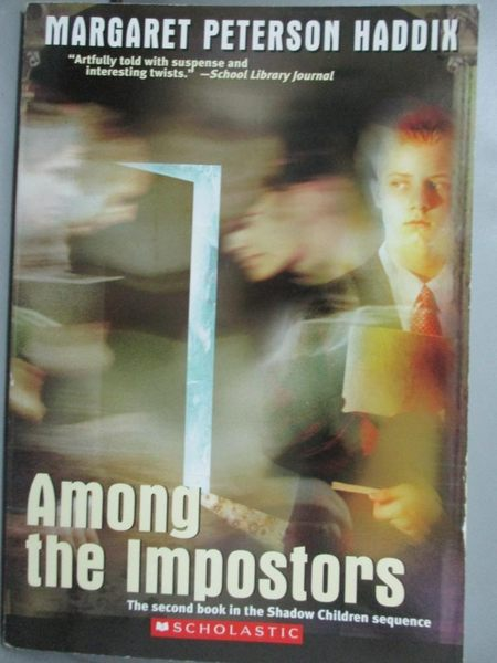 【書寶二手書T2/原文小說_ISO】Among the Impostors (The Second Book in th