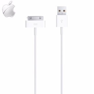 【YUI】Apple 原廠傳輸線 iPhone 4 iPhone 4S New iPad 2 iPod Touch 3 原廠充電線 連接線 數據線 裸裝