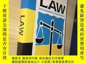 二手書博民逛書店Law:罕見Made Simple(10th Edition)(