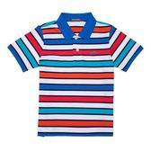 『小鱷魚童裝』彩色條紋POLO衫(02號~08號)339111