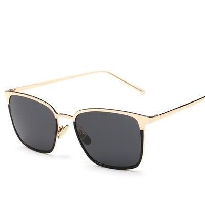 太陽眼鏡-簡約方型精緻質感男女偏光墨鏡8色73en95[巴黎精品]