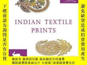 二手書博民逛書店Indian罕見Textile Prints (+ CD-ROM