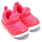 NIKE DYNAMO FREE 童鞋 小童 休閒 毛毛蟲 粉紅 【運動世界】 343938-620