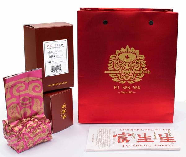 富生生|經典套裝禮盒|阿里山高山烏龍茶 150g