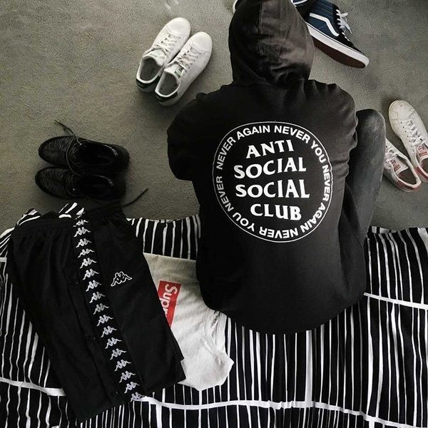ASSC never again never you hoodie