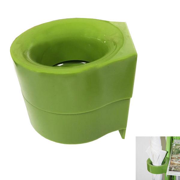 PUSH! 居家生活用品磁吸附式雨傘收納架收納盒I67