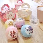 《花花創意会社》 韓國。乾燥花精油泡泡浴球去角質護膚 有4款【H6779】