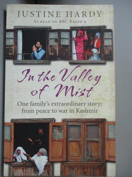 【書寶二手書T1/原文小說_OAP】In the Valley of Mist_Justine Hardy