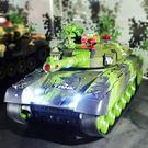 遙控坦克模型超大親子對戰可發射充電動兒童...