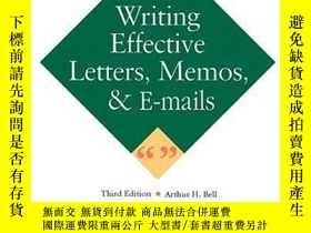 二手書博民逛書店Writing罕見Effective Letters, Memos, And E-mailY256260 Ar