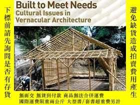 二手書博民逛書店Built罕見to Meet Needs: Cultural I
