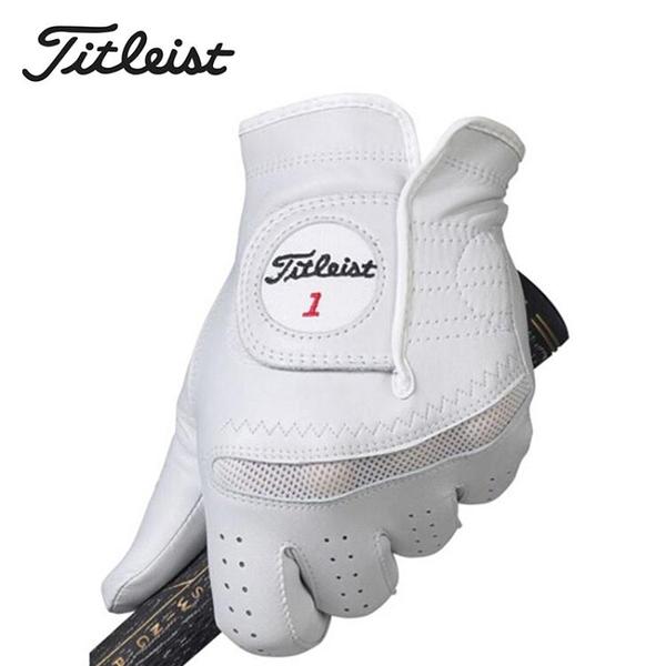 高爾夫手套 Titleist Perma-Soft男士 小羊皮高爾夫手套 新款