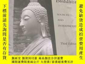 二手書博民逛書店the罕見experience of buddhism佛教的體驗