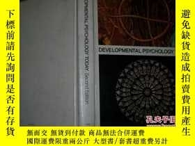 二手書博民逛書店Developmental罕見psychology today(