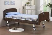電動床/ 電動病床(F-02)鐵網結構 基本款 居家型雙馬達 標準木飾造型板
