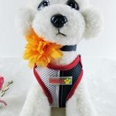 寵物背帶 泰迪狗狗牽引繩背心式遛狗繩子八哥小型犬狗鍊胸背帶寵物用品 小宅女