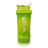 MET-Rx 美瑞克斯 健身運動專用搖搖杯 附鋼球 450ml (綠)