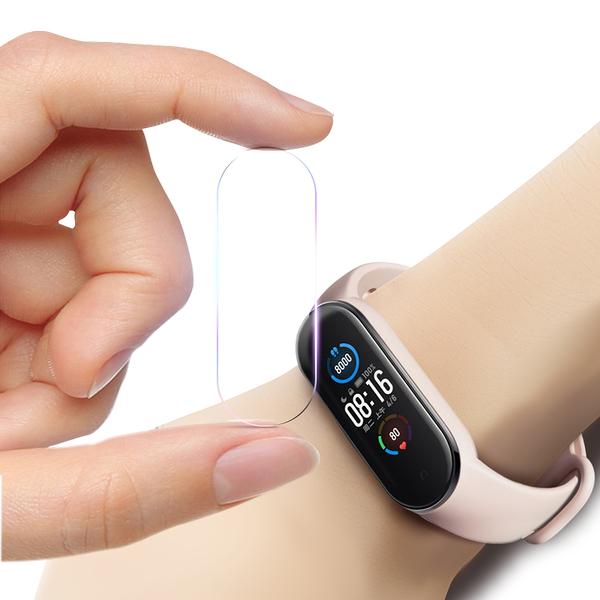 CITY for 小米手環5代 小米5 手錶錶螢幕保護膜 (2包4入)