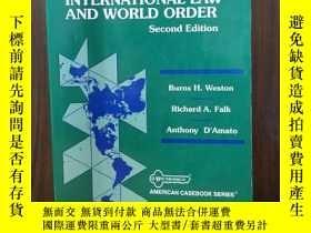 二手書博民逛書店BASIC罕見DOCUMENTS IN INTERNATIONAL LAW AND WORLD ORDER (AM