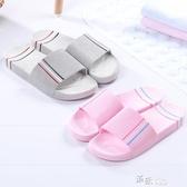 拖鞋女夏家用室內浴室防滑洗澡軟底居家外穿男家居大碼涼拖鞋情侶 新年禮物