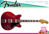【小麥老師 樂器館】買1贈12!Fender Modern Player Coronado II 電吉他 復古