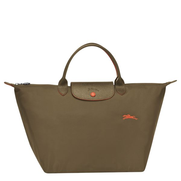LONGCHAMP  1623  女士女包 LE PLIAGE COLLECTION系列桃粉色织物中号短柄可折叠手提包 1623 089 B49
