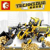 【888便利購】【森寶積木】大型推土機組合積木組(688PCS)(701701)