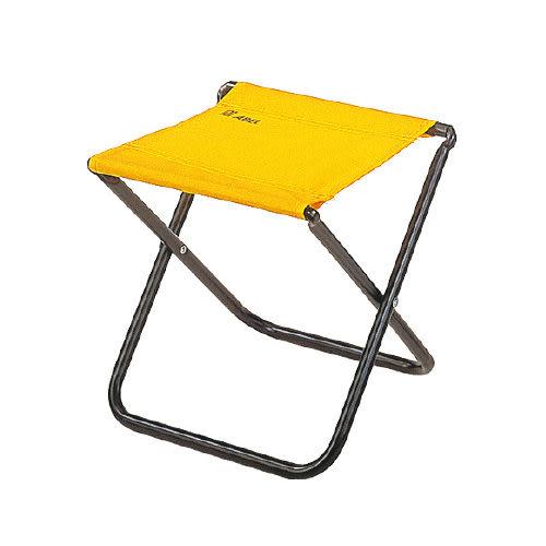 [奇奇文具]【力大 ABEL 童軍椅】力大ABEL NO.60303 輕便椅/折疊椅/露營椅/休閒椅/豋山椅 (黃色)